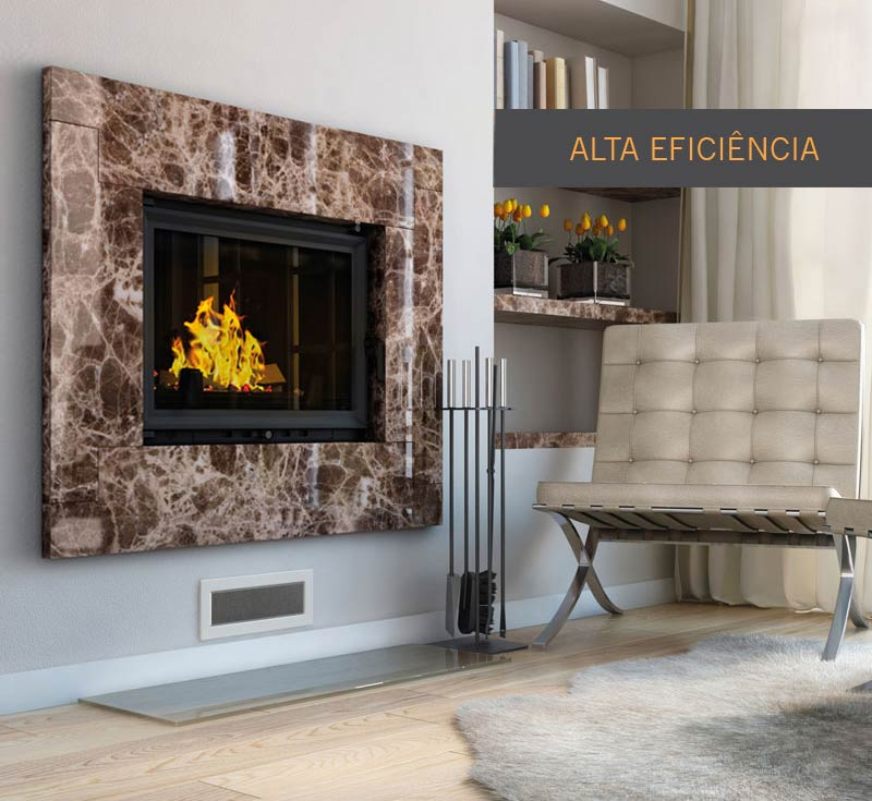 Lareira de Ferro Fundido 680 HE – High Efficiency